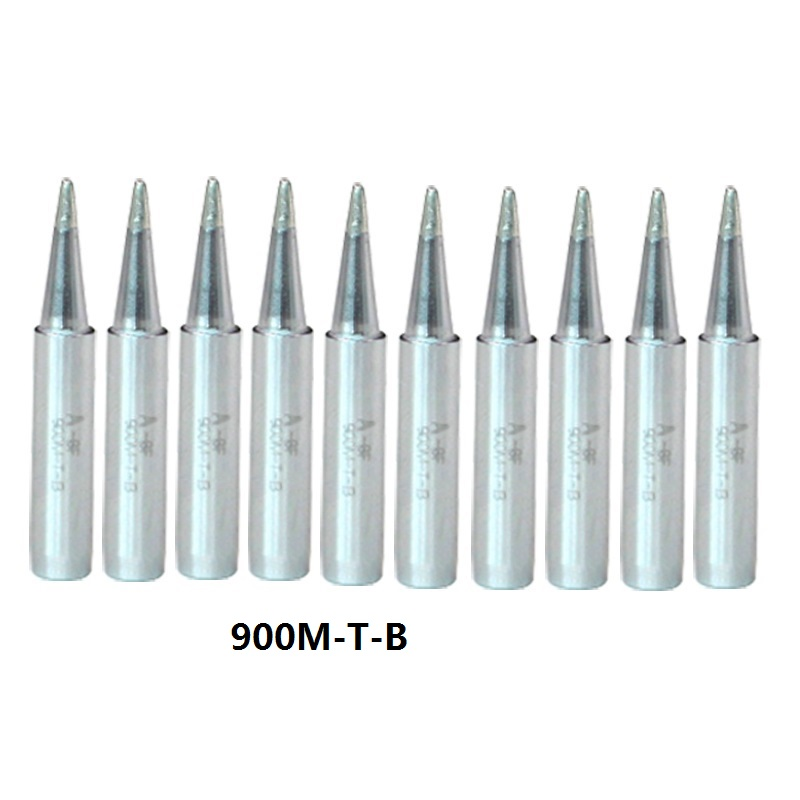 10pcs 900M series Soldering Iron sting Tips for Hakko, ATTEN, QUICK, Aoyue, Yihua Soldering Station Solder melting Tips