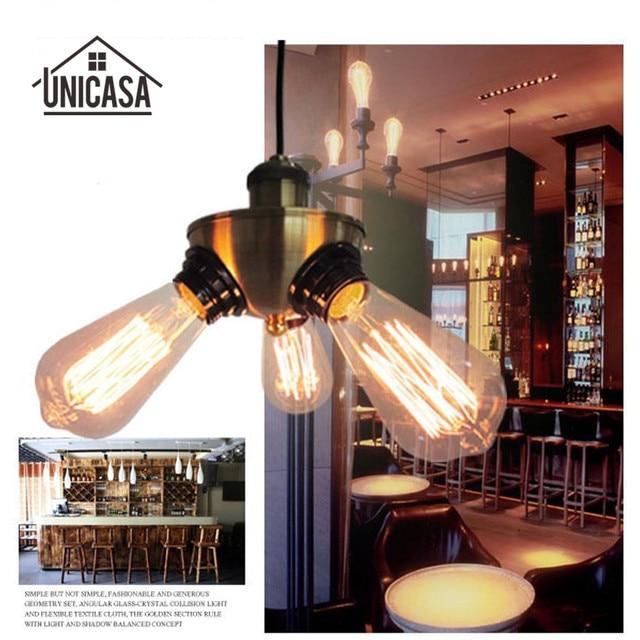 Accesorios de Iluminación Industrial Luces Pendientes De La Vendimia ...