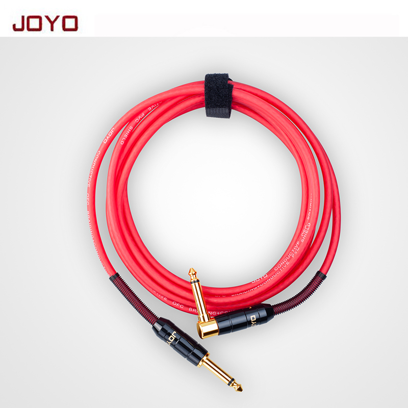CM 19/22 Shieded Mono Cable 3/6 Meter 6.35mm straight plug to 6.35mm elbow connecting line Guitar connector wire free shipping