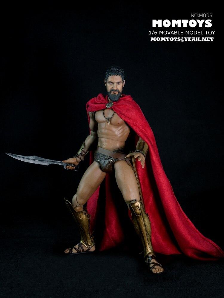 """1:6 schaal Super flexibele figuur Oude Griekse warrior 300 warrior Wolf 12 """"action figure pop Collectible Model Plastic speelgoed-in Actie- & Speelgoedfiguren van Speelgoed & Hobbies op  Groep 3"""