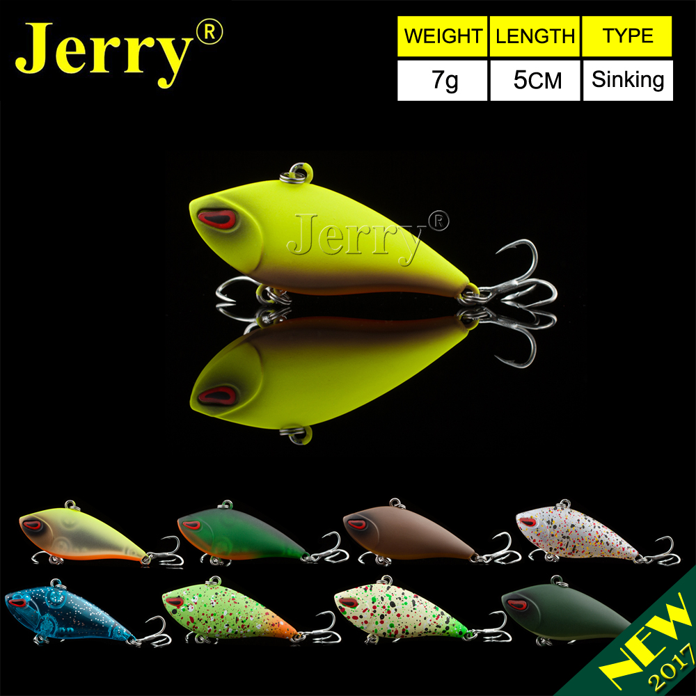 Jerry 1pc 5cm bass fishing lure sinking lures plastic VIB lures lipless crankbait hard bait trout lures jerry 1pc 8cm 15g crystal popper lure for bass best hard lures surface bait deep sea
