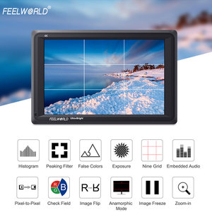 Image 3 - Feelworld FW279L 2200nits 7 Inch IPS Camera Field Monitor 4K HDMI 1920X1200 LCD Monitor for DSLR Cameras with Bracket