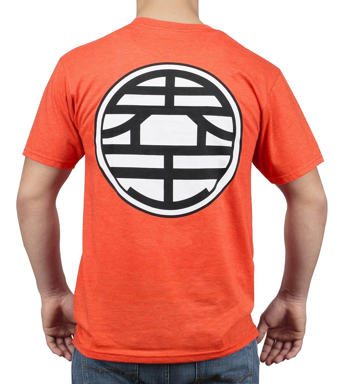 Saiyan Market Dragon Ball Z Goku Kame Symbol T Shirt