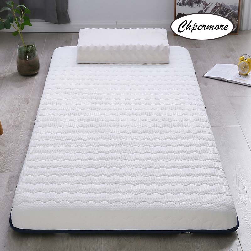 Chpermore Latex Mattress Tatami Slow-Rebound Memory-Foam Foldable Thicken Queen-Size