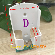 CN KESI TV DVD Air Conditioner Wall Mount Remote Control Holder Wall Mounted / box 1.81in*0.82in*3.22in(46mm*21mm*82mm) 1PCS/lot