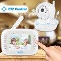Remote Rotate 3.5inch Wireless Digital Baby Video Monitor Camera IR Night Vision Lullaby Video Nanny surveillance camera battery