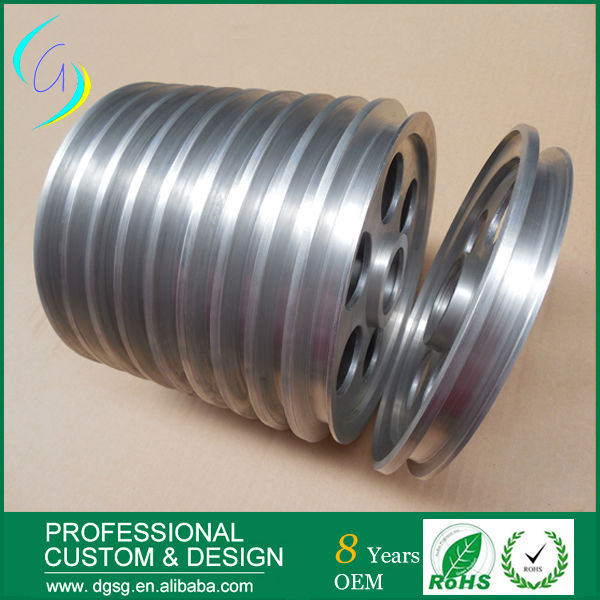 stainless steel cable buffing pulley wheel Bearings m75 750kgs pulley 304 stainless steel roller crown block lifting pulley factory direct sales all kinds of driving pulley