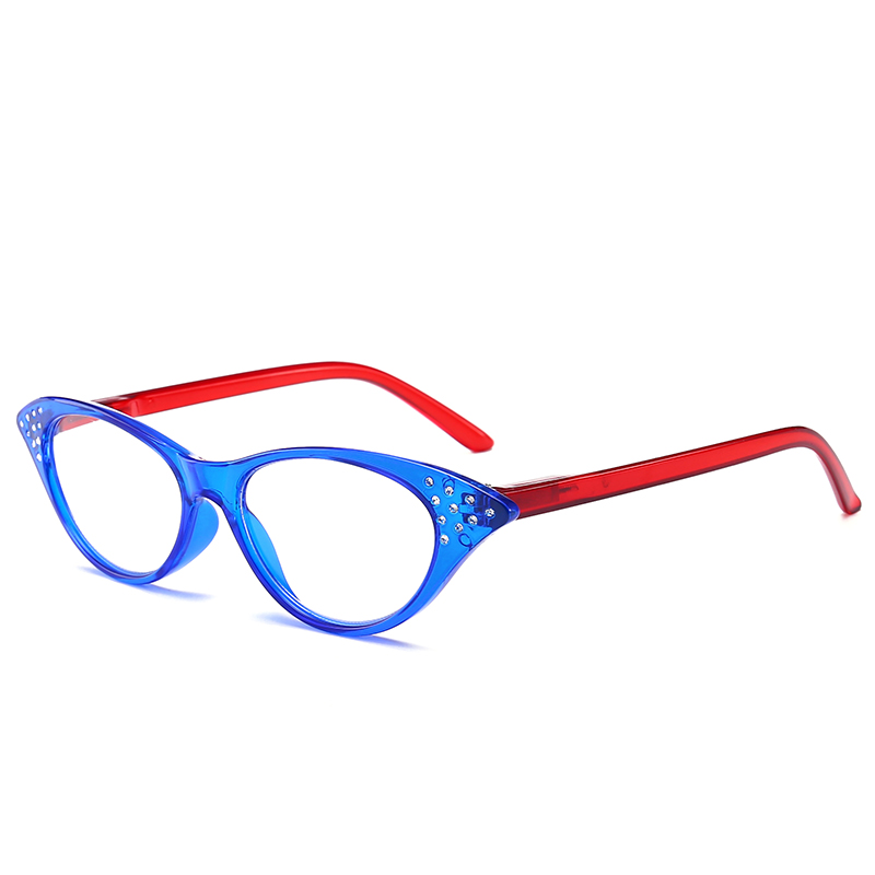 JN IMPRESSION High quality fashion color reading glasses womens ultra - light anti-fatigue glasses magnifying glass T18158