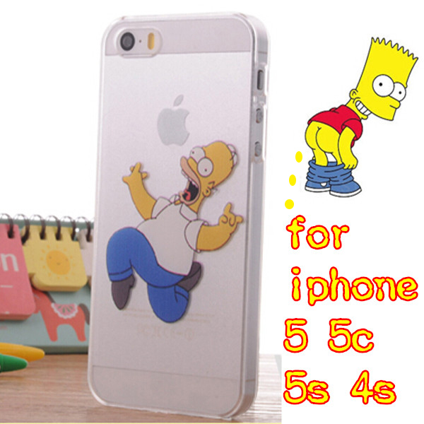 27 stylel Soft TPU Case Apple iphone 4 4s 5 5c 5s 6 plus Transparent Simpson Back Cover Capa Para Fundas - iCover Wireless Co.,Ltd store