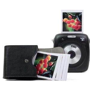 Image 3 - 스퀘어 카메라 사진 시트 스토리지 가방 가죽 케이스 교체 Instax SQ20/SQ10/SQ6/SP 3