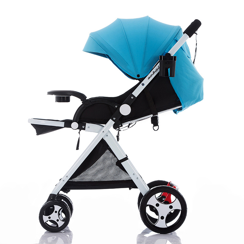 Baby stroller ultra-light portable folding shock four seasons bb baby hadnd car umbrella baby stroller ultra light portable shock absorbers bb child summer baby hadnd car umbrella