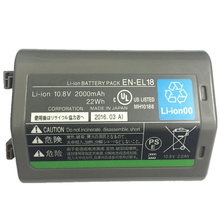 EN-EL18 EN-EL18A  ENEL18 lithium batteries pack ENEL18A ENEL18 EN EL18 Digital camera battery For Nikon D5 D4 D4S D4X