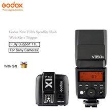 В наличии Godox V350s sppedlite Вспышки TTL HSS Функция с x1t-s Godox камеры триггеры для Sony камеры