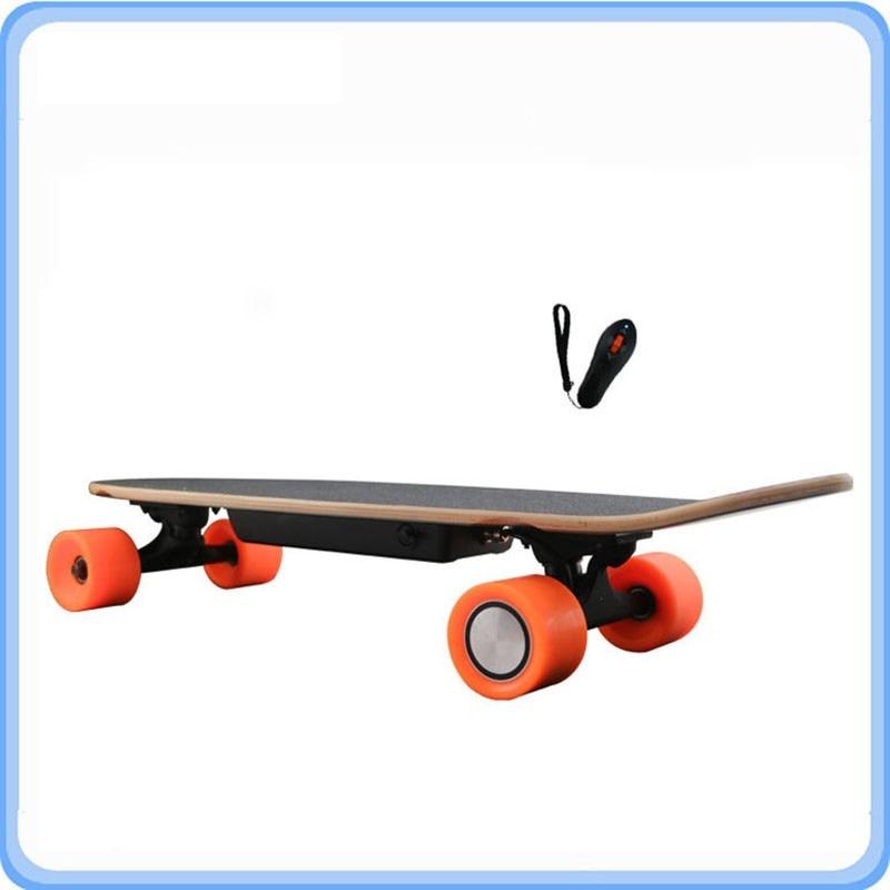 Electric hoverboard Skateboard oxboard giroskuter Remote penny board smart wheel Scooter waveboard electric longboard цена