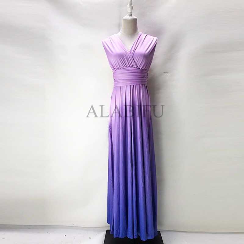 Сексуальное женское многослойное платье-трансформер Boho Макси Клубное красное платье Бандажное длинное платье вечерние платья для подружек невесты Infinity Robe Longue Femme