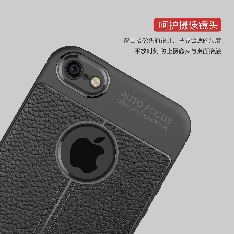 Shockproof Luxury Leather Soft iPhone Case 4