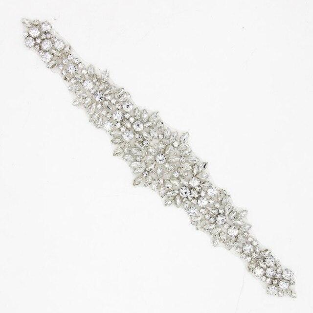 Apliques de diamantes de imitación de cristal de cuentas claras para ...