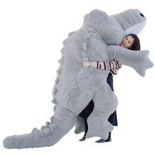 Fancytrader 118 ''большой гигантский плюшевый Крокодил Игрушка мягкая Аллигатор диван кровать отличный подарок 300 см самый большой во всем мире