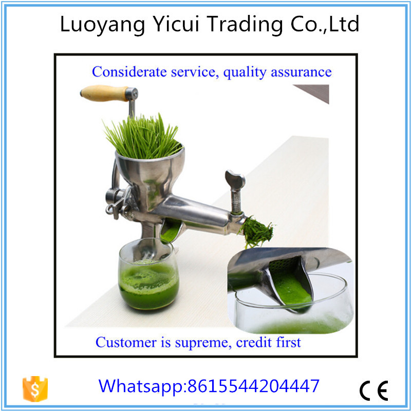 Free shipping Superior quality wheatgrass slow juicer