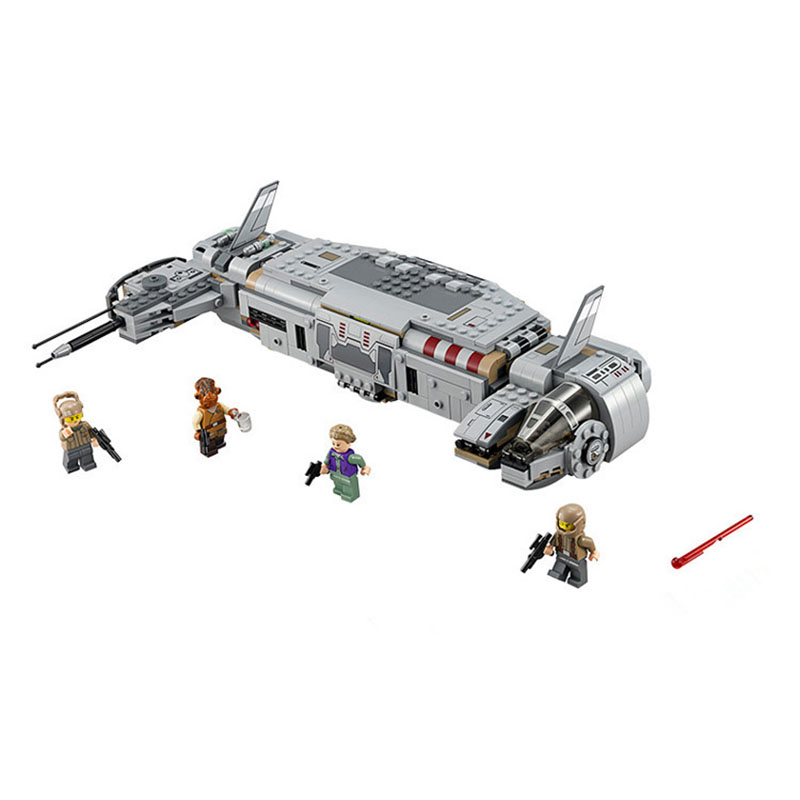 Pogo BL10577 Star Wars Resistance Troop Transporter Building Blocks Bricks Toys Compatible Legoe 75140 678pcs diy star wars resistance troop transporter model building blocks compatible with starwars legoingly bricks toys kids gift