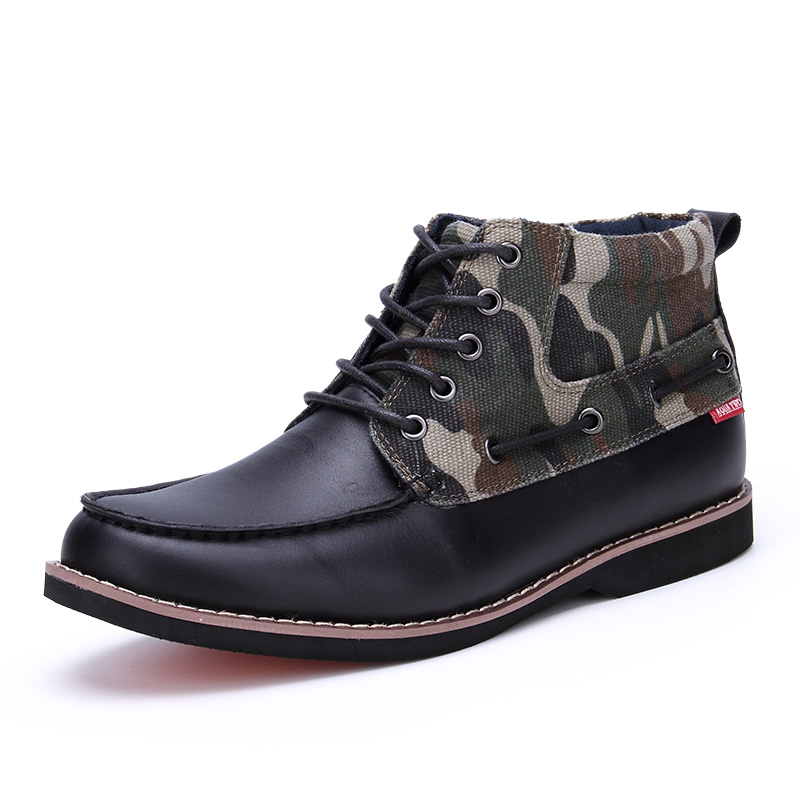 New Design 2016 Top Fashion AQUA TWO Fashion font b Boots b font Full Grain Leather