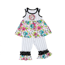 Kaiya Angel Newborn Cotton Infant Baby Girls Fashion Clothes Flower Tracksuits Costume Chinese Rose Outfits toddler clothing