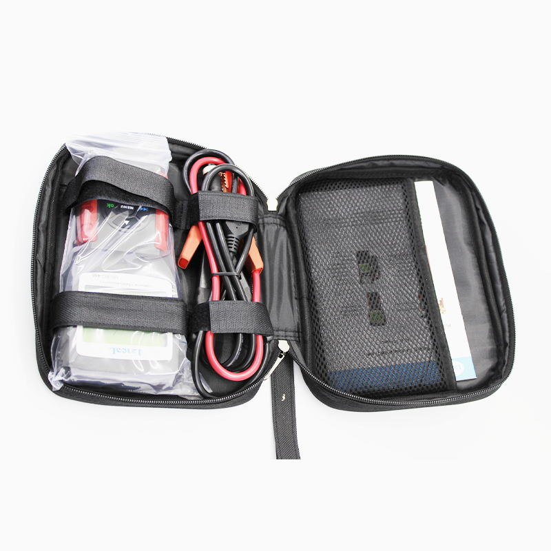 LANCOL 12V Car Battery Tester Diagnostic Tool Changeable Cable Convenient Digital Battery Analyzer MICRO-468 Tester Battery Car