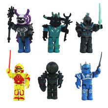 2018 4/6pcs Roblox Characters Figure 7/7.5cm PVC Game Figma Oyuncak Action Figuras Toys Roblox Boys Toys for Children Party