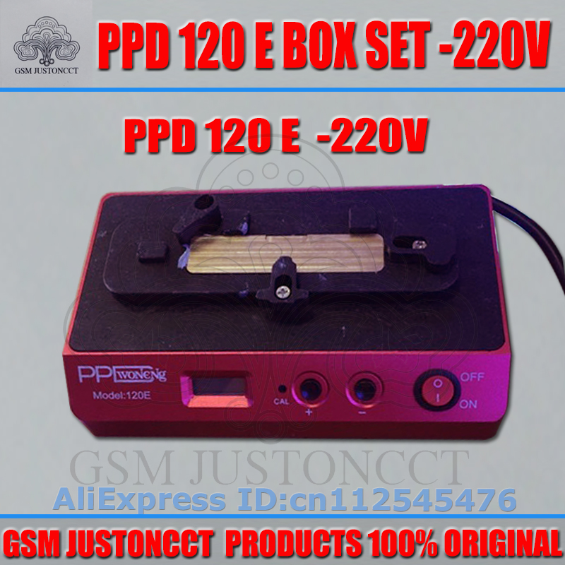 PPD 120E soldering station down the forapple mobile phone motherboard chip A8A9 CPU intelligent desoldering tools platform