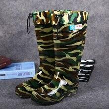 2016 highwinter рыбацкие сапоги человек ПВХ камуфляж непромокаемые сапоги модные сапоги рыбацкие мужские Стиральные обувь рабочие ботинки;