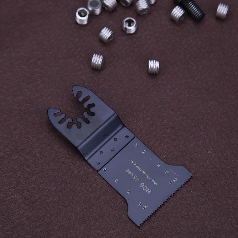 Многофункциональные Осциллирующие многофункциональные инструменты для резки дерева, металла, пильные диски HCS/BIM 45x40 мм 32X40 мм, триммер, электрический инструмент, запчасти, новинка