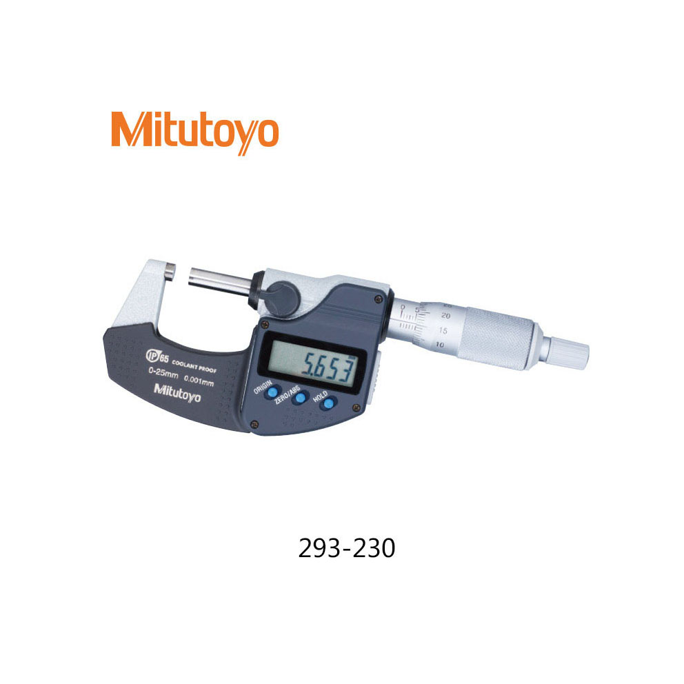 SPC Output MDC-25MX 293-230-30 Japan NEW 0-25 mm Mitutoyo Digimatic Micrometer