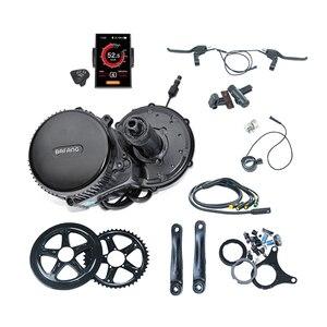 Image 2 - 무료 배송 Bafang BBS01 350W 키트 36V 350W Bafang 8Fun 중반 드라이브 자전거 모터 자전거 Bafang Ebike 키트 자전거 변환