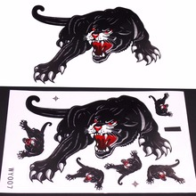 Motorcycle and Car Hoods Trunk Whole Body Animal Ferocious Panther Decal Personalized Car Sticker