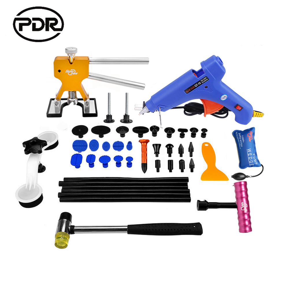 PDR Hand Tool Sets Combination Paintless Dent Repair Household Tool Set Car Dent Repair Kit Fast Shipping pdr tool pdr brace tool b4