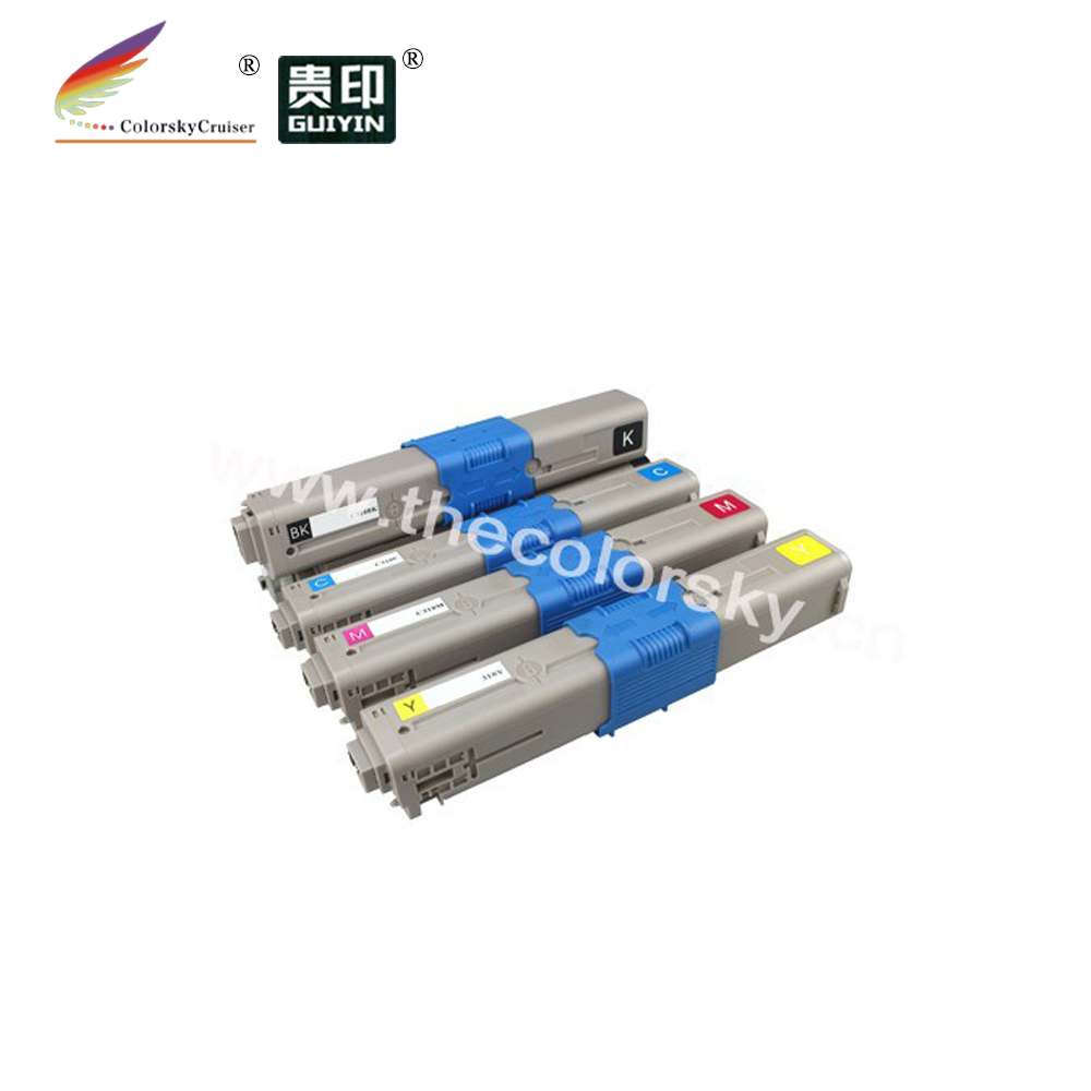 (CS-OMC561) Color compatible toner printer cartridge for OKI MC-561 MC-562 MFP 44469804 44469724 44469723 44469722 (5k/5k pages)