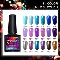 Modelones Newest Color UV Nail Gel Polish DIY Nail Art Salon UV Gel Polish Varnishes Long Lasting Soak Off UV Polish Gel Nail