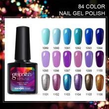 Modelones Newest Color UV Nail Gel Polish DIY Nail Art Salon UV Gel Polish Varnishes Long Lasting Soak Off UV Polish Gel Nail