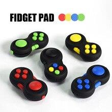 Controladores de jogo mão Mágica spinner Fidget Pad Gamepad Crianças Brinquedo Secretária fidget cubo Adultos TDAH Alivia Stress Relief Toy Kids