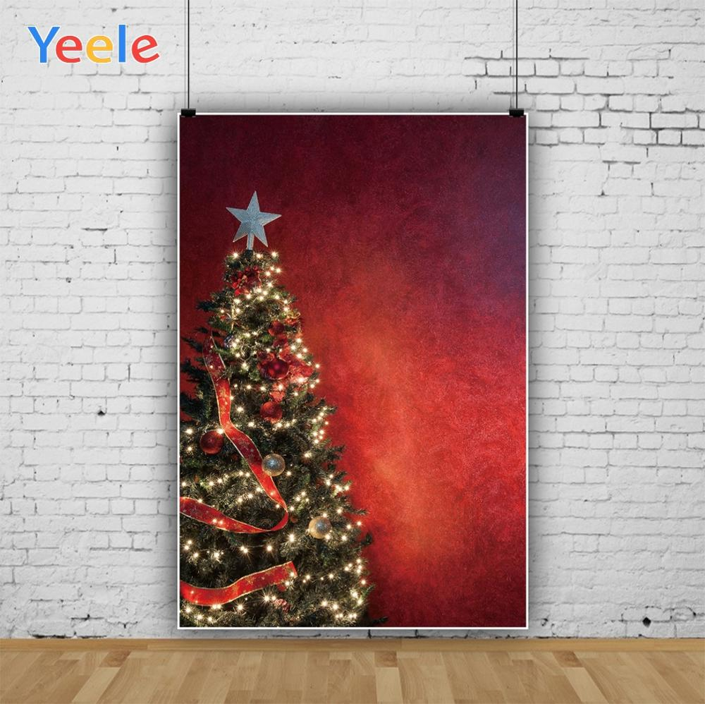 Yeele Photography Backdrops Solid Color Cloth Christmas Trees Professional Camera Photographic Backgrounds For The Photo Studio