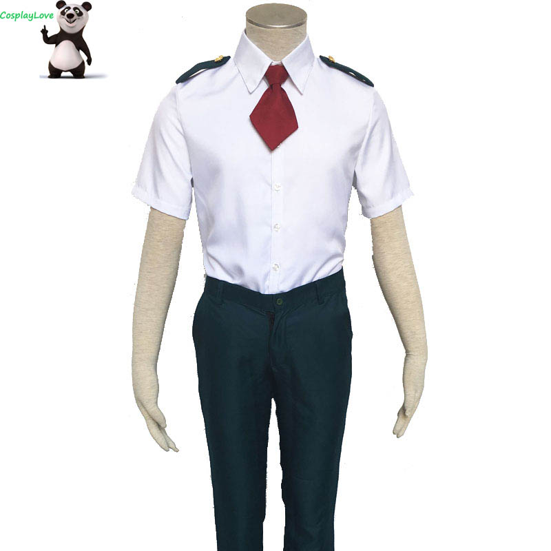 My Hero Academia Boku No Hero Akademia Akademia Izuku Summer School Uniform Cosplay Costume Custom Made For Halloween