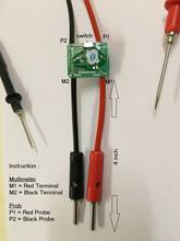 Milliohm meter Probe milli ohm converter used for multimeter,designed to produce relative resistance determination