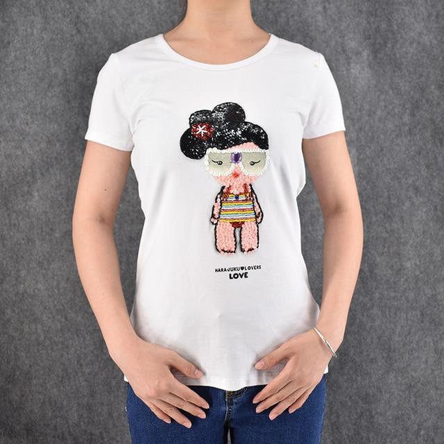Femme T Shirt En Coton Femmes Vetements De Dessin Anime Japonais