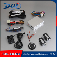 Quality Universal Car Alarm System One Way With Remote Control Keyless Entry Anti-theft Car Alarm System