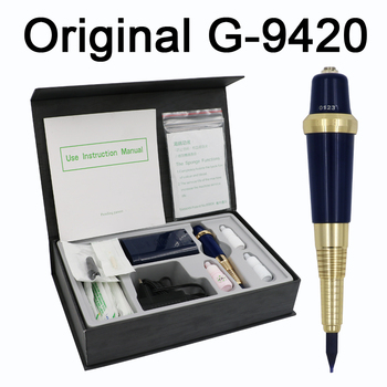 Professional Taiwan G-9420 Eyebrow Tattoo Machine Pen For Permanent Makeup Basic Eyebrows Forever MAKE UP kit With Tattoo ink