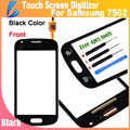 LL TRADER High Quality Black Front Glass For Samsung Galaxy S Duos gt S7562 7560 Touch Screen Digitizer +Tools Free Shipping