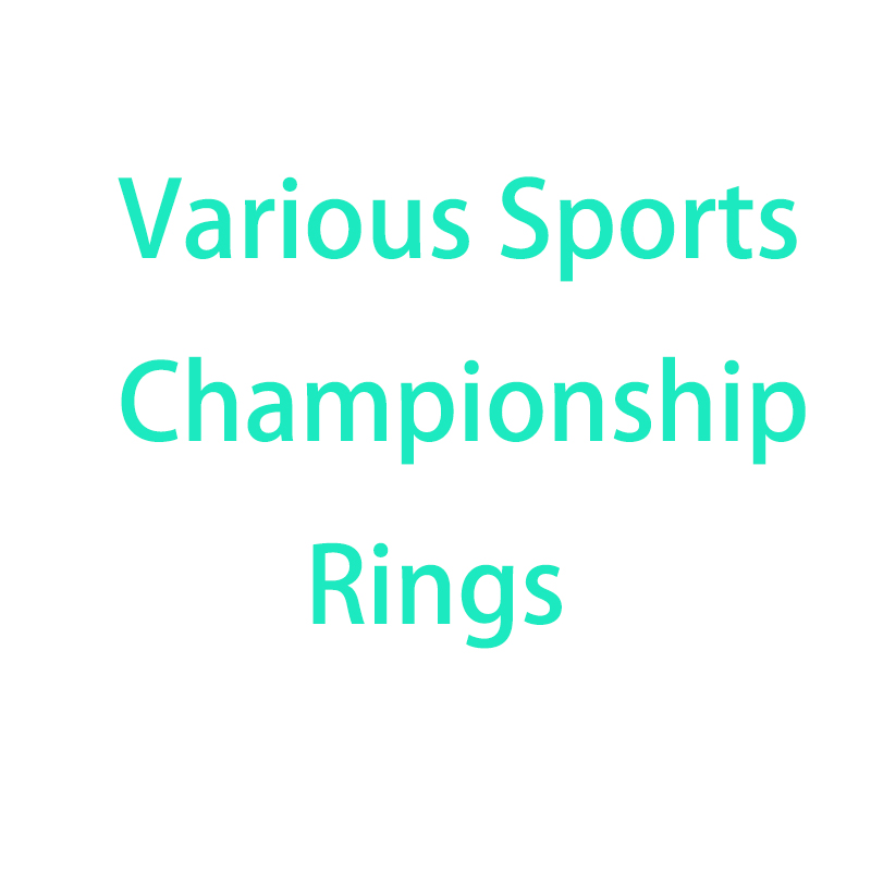 2016 2017 2018 Sports League Championship Rings For Men MaleWomen Football Basketball Hockey Boy Teen Grils Champion Men Ring