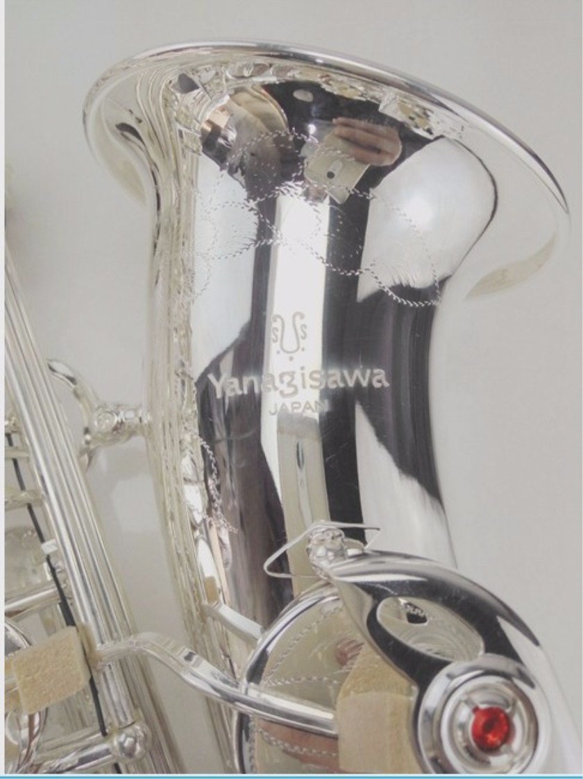 Sales Japan Yanagisawa High quality Alto saxophone 992 E flat Silver plated Musical Instrument Professional free shipping