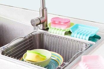 Portable Jaboneras Baño 3 Piezas Multifuncional Cocina Baño Sink  Almacenamiento Cesta Creativa Gota Aug10