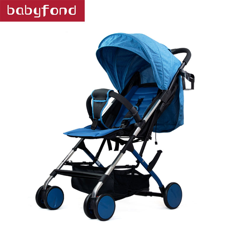 super light baby stroller suspension travel carry baby car export quality free gifts send can be on plane stroller
